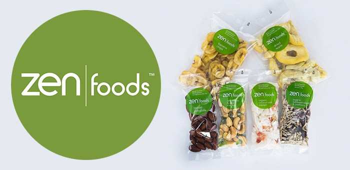 Fill the gaps between meals with nutritious, convenient, take-anywhere Zen Foods wholesale snacks foods. Gluten free, Dairy free, High in fibre.